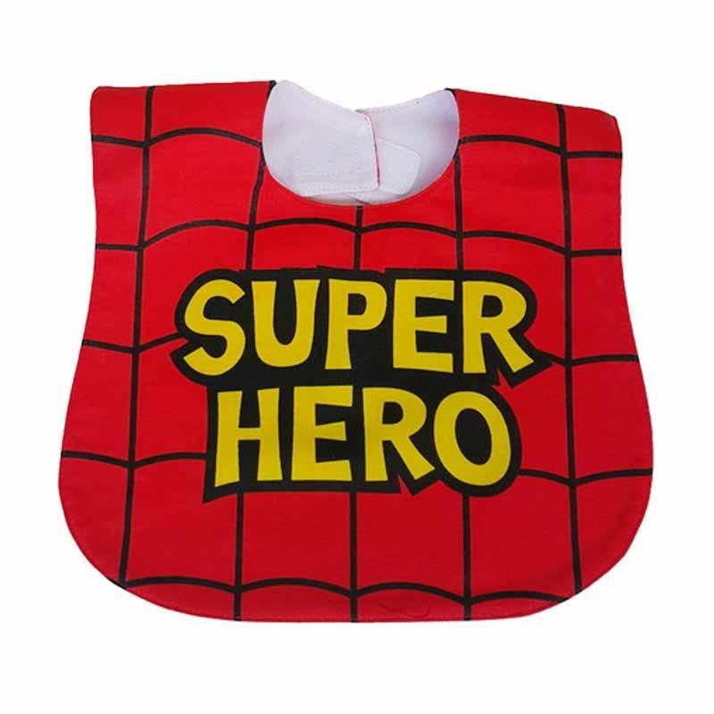 Chloe Babyshop Bib Sleber Superhero BB11A Celemek Bayi