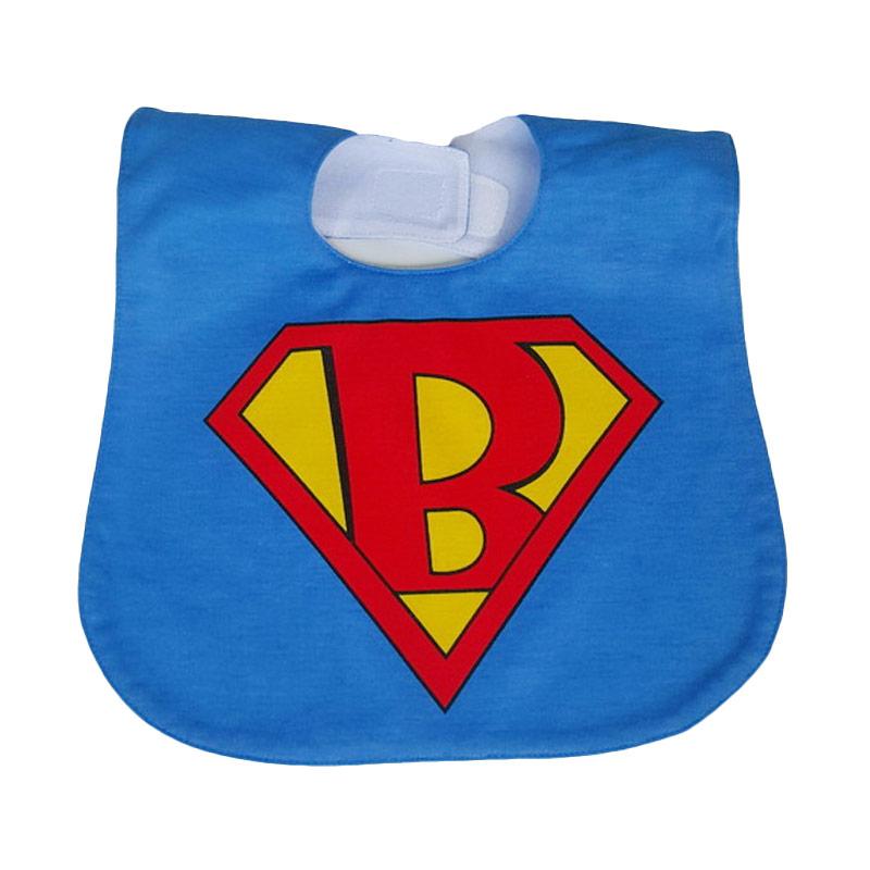Chloe Babyshop Bib Sleber Superman BB11i Celemek Bayi - Biru