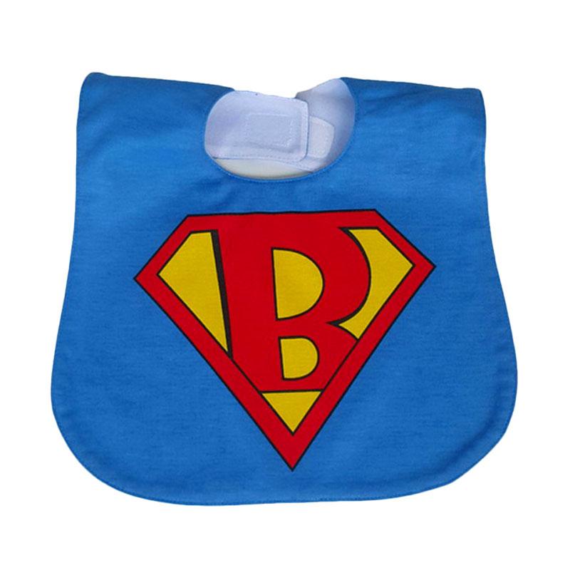 Chloe Babyshop Bib Sleber Superman BB11i Celemek Bayi