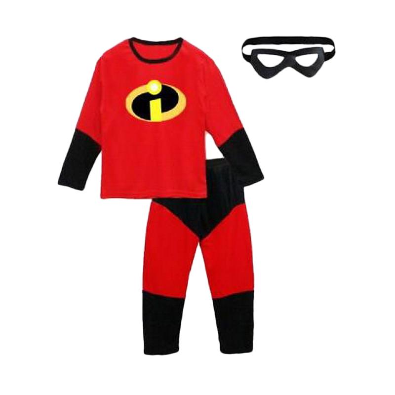 Chloe Babyshop  F761 Costume Marvel Incredible & Topeng Set Pakaian Anak