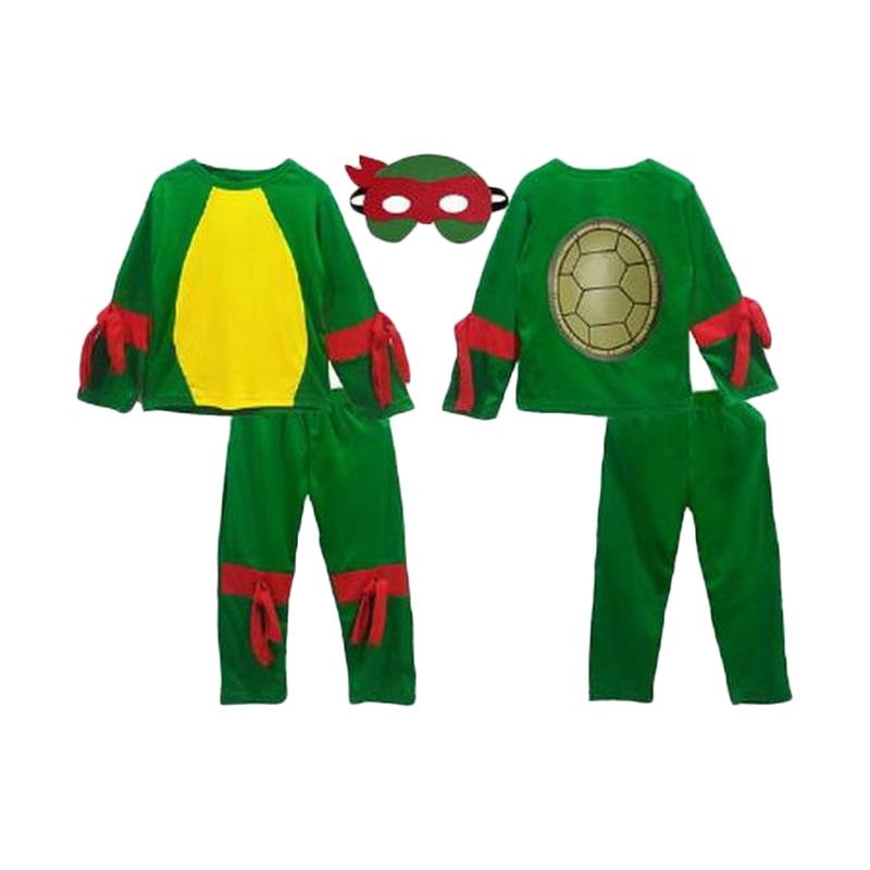 Chloe Babyshop Costume Ninja Turtle + Topeng F779 Set Pakaian Anak
