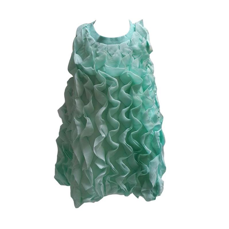 Chloe Babyshop Alur C66 Dress Anak - Green