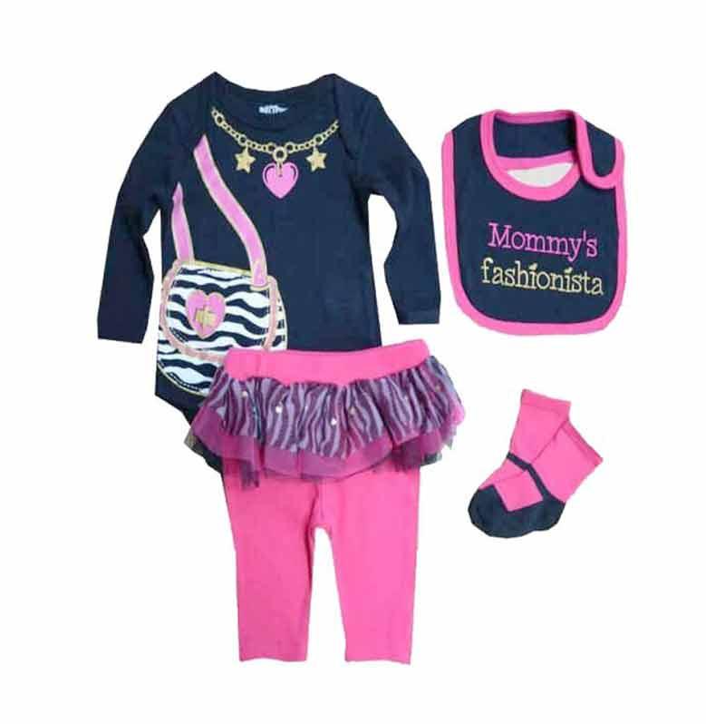 Chloe Babyshop F638 Jumper Mommy 4 in 1 Set Pakaian Anak