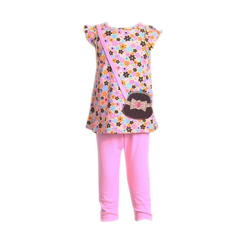 Chloe Babyshop F911 Setelan Anak - Pink Muda