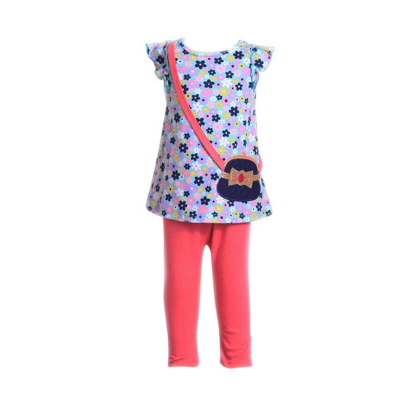 Chloe Babyshop F911 Setelan Anak - Pink Tua