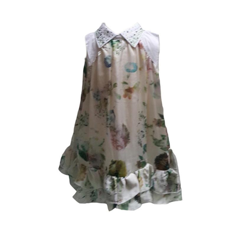 Chloe Babyshop Flower C69 Dress Anak - Green