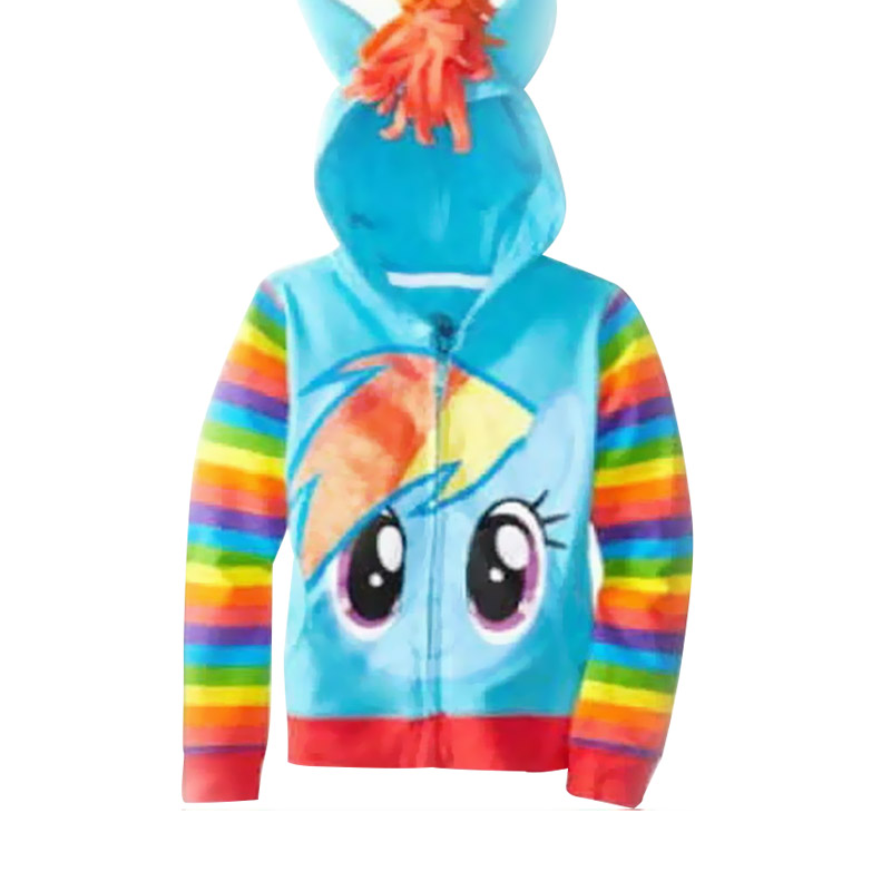 Chloe Babyshop Hoodie Pony F678 Jacket Anak