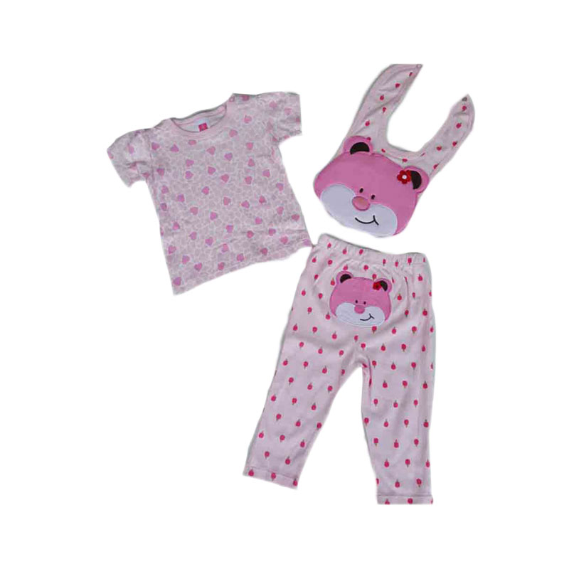 Chloebaby Shop F803 Baby 3 in 1 Bear Set Jumper