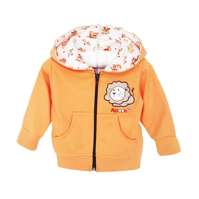 Chloe Babyshop Lion Atton F834 Jaket Anak - Orange