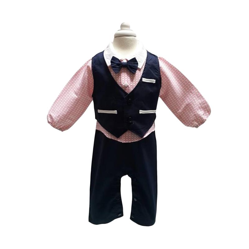 Chloe Babyshop Tuxedo F572 Romper Anak
