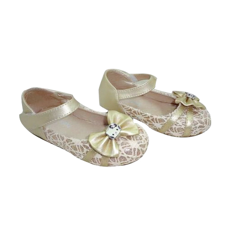 Chloe Babyshop Shoes Hello Kitty S128 Sepatu Anak - Gold