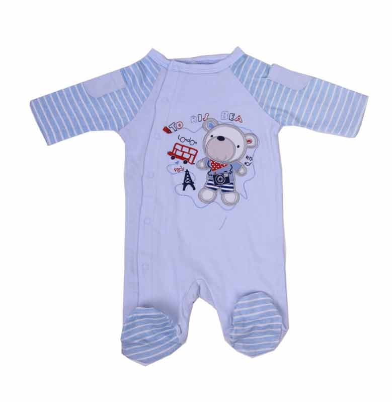 Chloe Babyshop Sleepsuite To London Jumpsuit - Biru