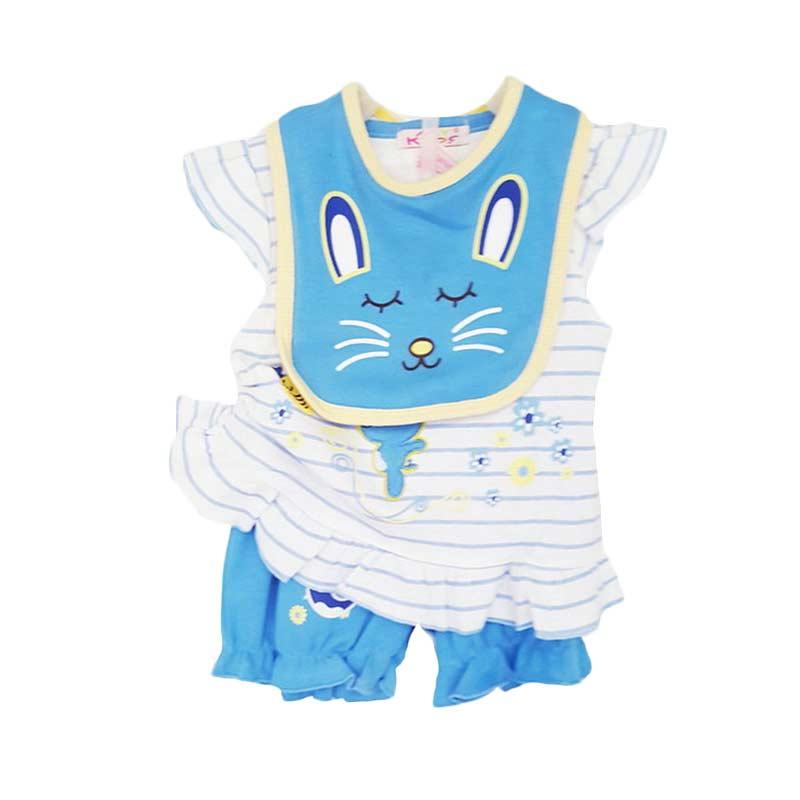 Chloe Babyshop Starter Set 3 in 1 Rabbit F835 Setelan Anak