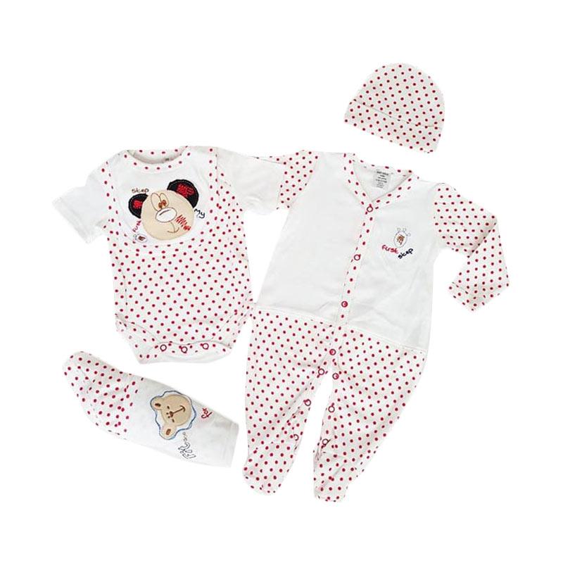 Chloe Babyshop F839 Starter Bear Set Pakaian Anak [5 in 1]
