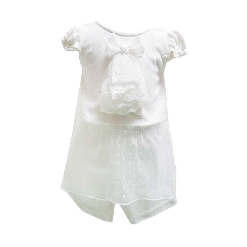 Chloe Babyshop Tille Ribbon F849 Setelan Pakaian Anak