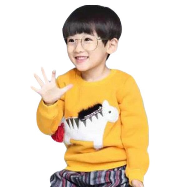 Chloebaby Shop Horse F952 Sweater Anak Laki Laki - Yellow