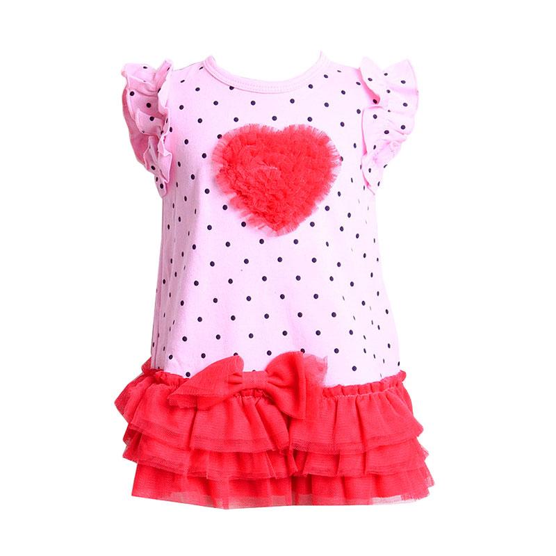ChloeBaby Shop Tutu Love F906 Atasan Anak