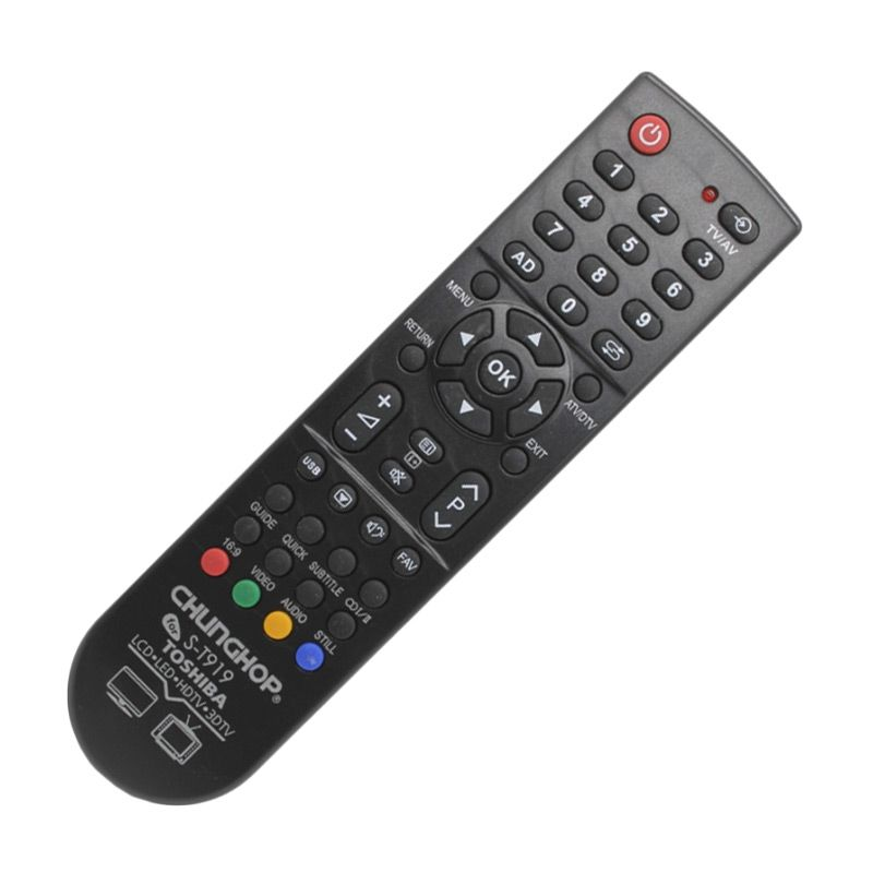 Chunghop ST919 Remote TV for Toshiba
