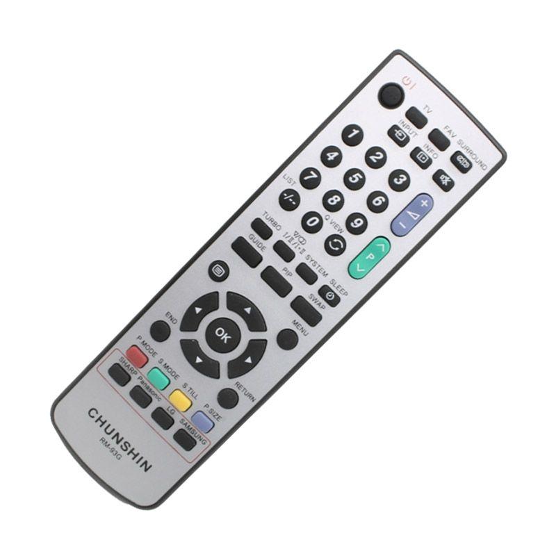 Chunshin RM93G Remot TV for LG/Samsung/Sharp/Panasonic [All in 1]