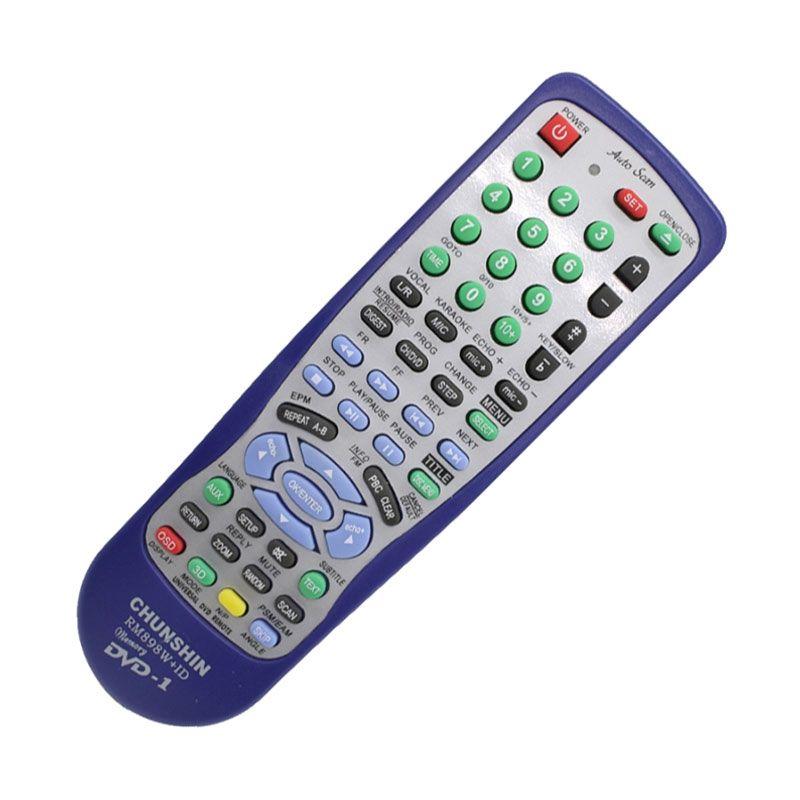 Chunshin RM898W Remote DVD Universal + ID