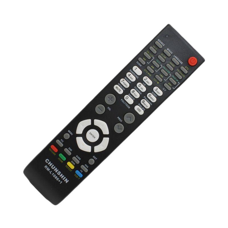 harga Chunshin RML1086+1 Remote TV for Polytron LCD Blibli.com