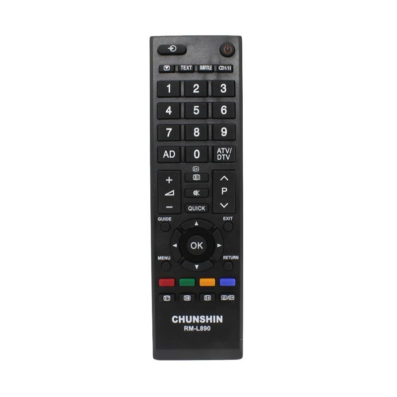 Chunshin RML890 Remote TV for Toshiba [All in 1]