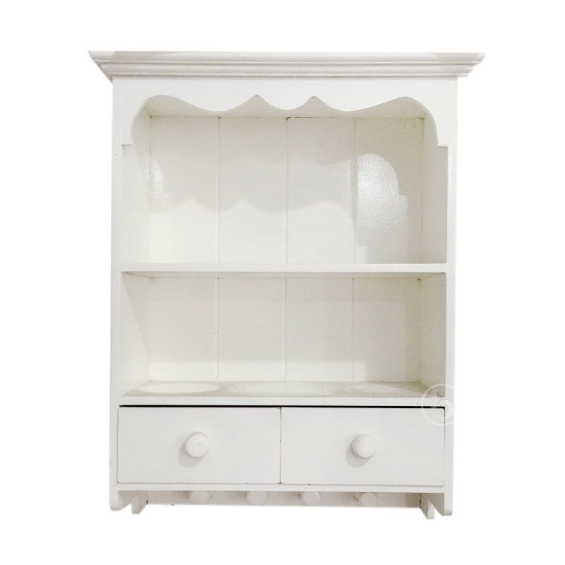 Cinder Crafts White Collections Wall Cabinet [with Hanger]