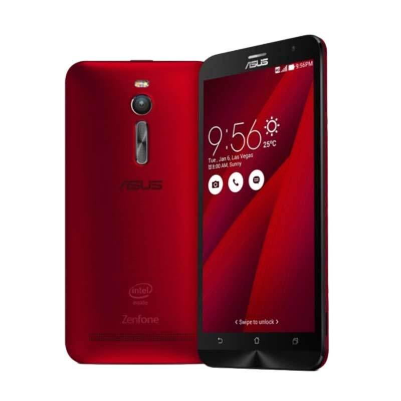 Asus Zenfone 2 ZE551ML Red [32GB/4GB/Garansi Resmi]