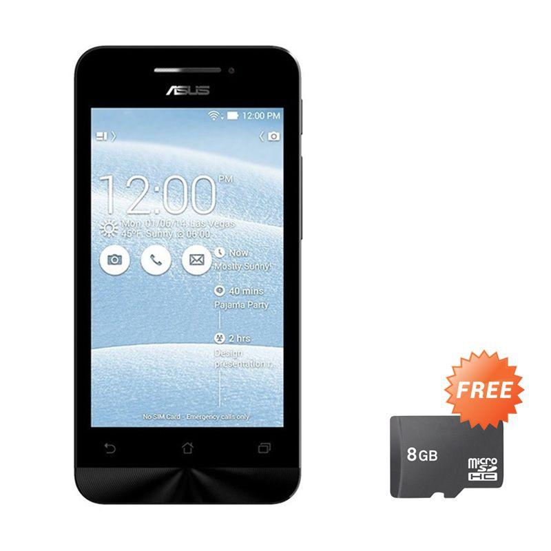 Asus Zenfone 4C ZC451CG Red Smartphone [RAM 1 GB/8 GB/Garansi Resmi] + Micro SD 8 GB