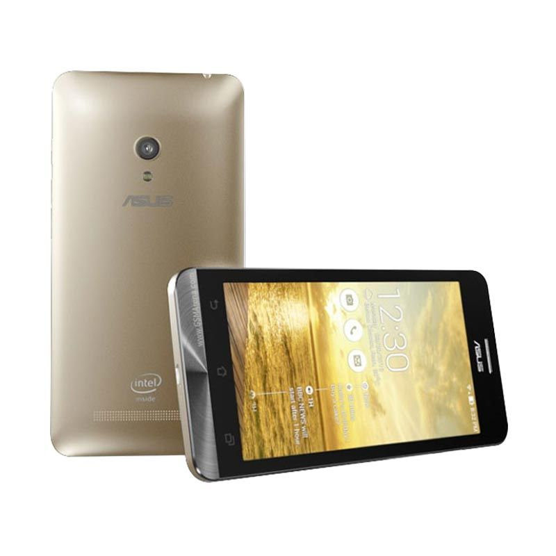 Asus Zenfone C A451CG New Gold Smartphone [8 GB/Garansi Resmi]
