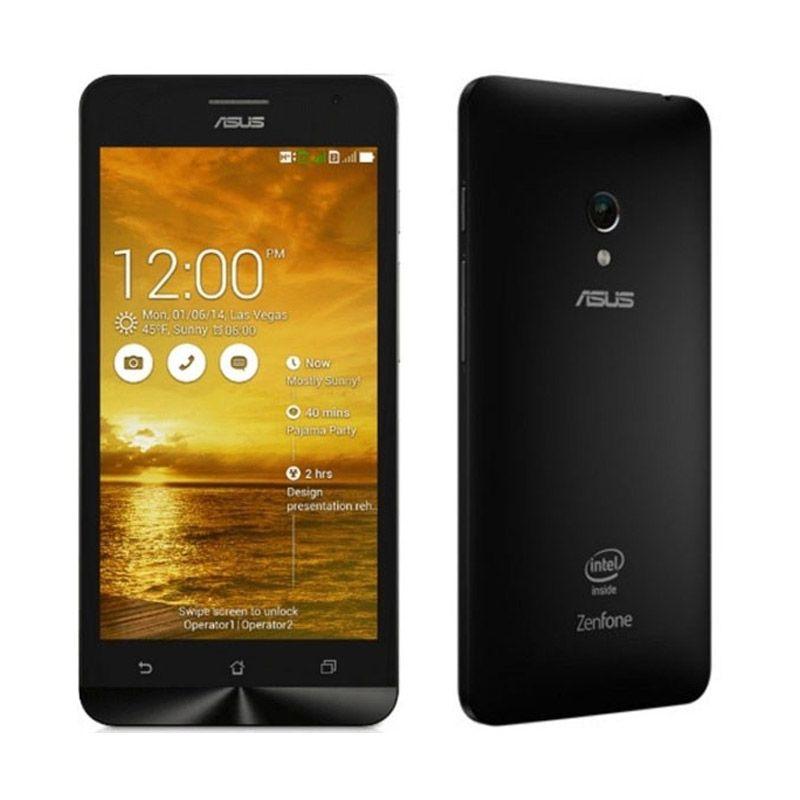 Asus Zenfone C ZC451CG Black Smartphone [Ram 2GB/Garansi Resmi]