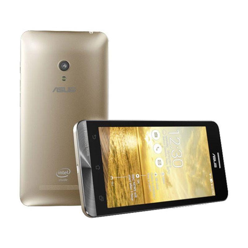 Asus Zenfone C ZC451CG Gold Smartphone [Ram 2GB/Garansi Resmi]