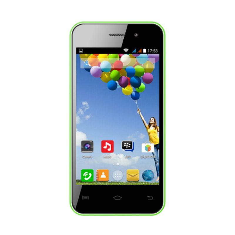 Evercoss A7E Hijau Smartphone
