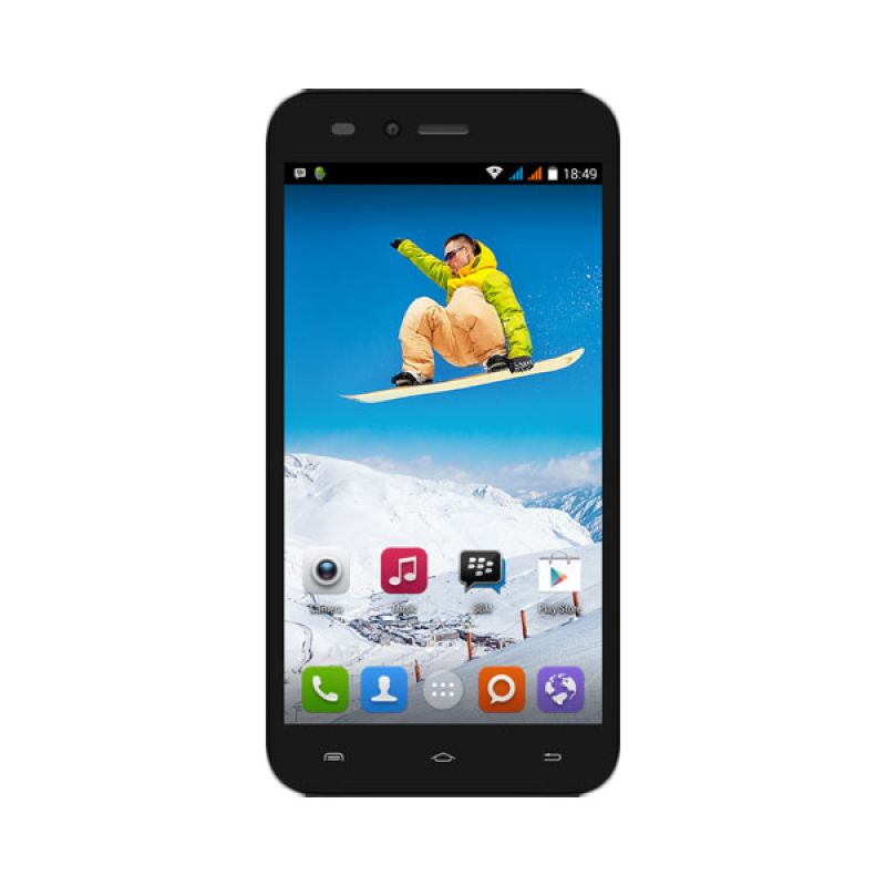 Evercoss A7N Hitam Smartphone [8 GB]