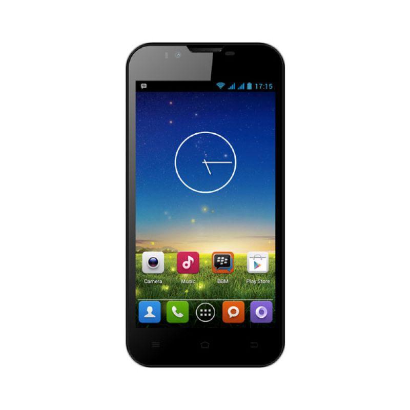 Evercoss A7V Hitam Smartphone [1 GB/4 GB]