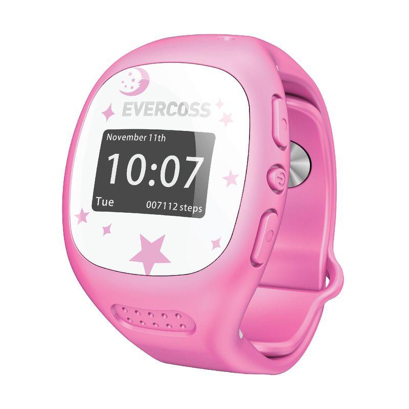 Evercoss J1 Pink Smartwatch [Garansi Resmi]