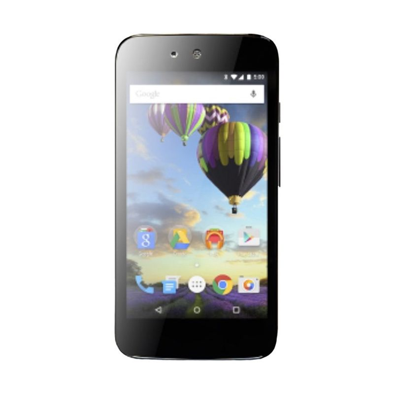 Evercoss One X A65 Hitam Smartphone