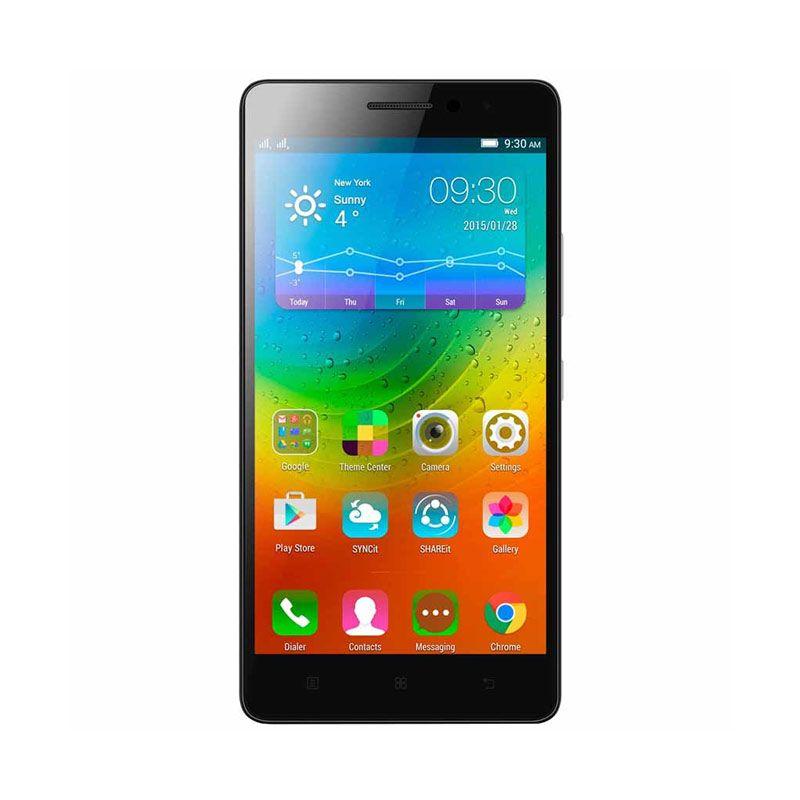 Lenovo LTE A7000 Hitam Smartphone [8 GB]