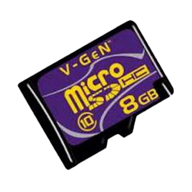 V-Gen Micro SDHC Class 10 Memory Card [8 GB]