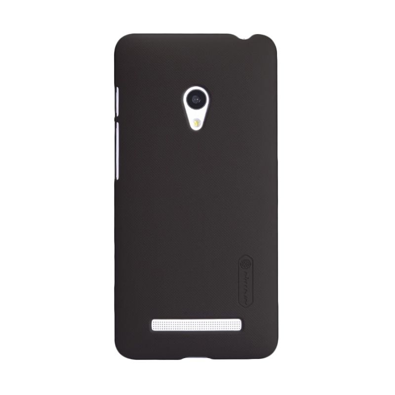 Nillkin Super Frosted Shield Black Casing for Asus Zenfone 5 + Anti Gores