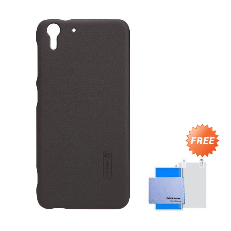 Nillkin Super Frosted Shield Hitam Casing for HTC Desire Eye + Anti Gores