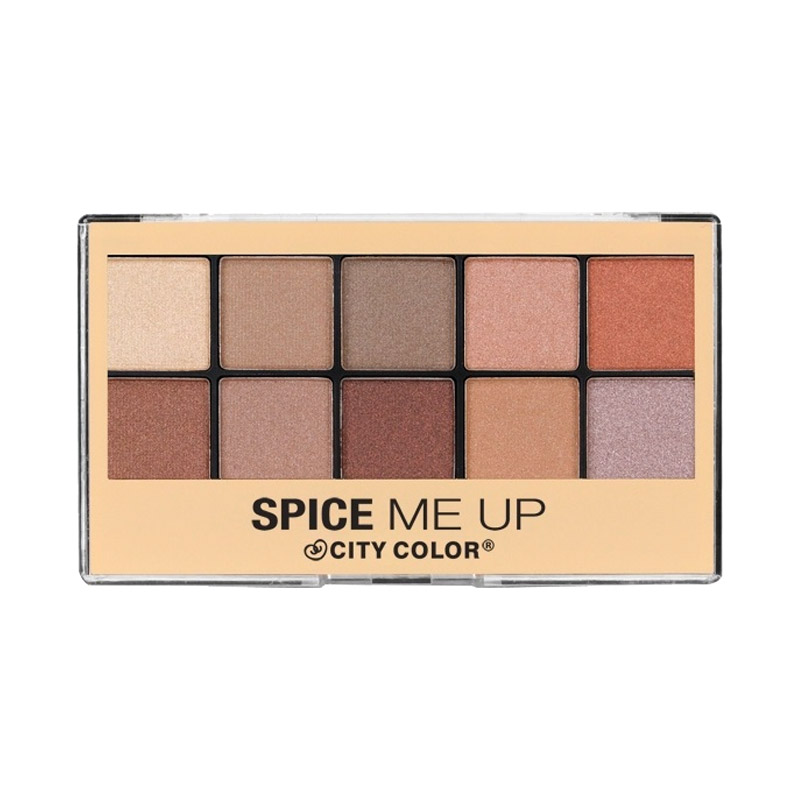 City Color Spice Me Up Eyeshadow Palette