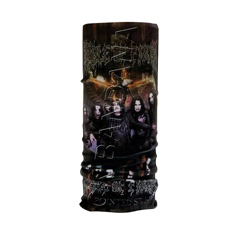 harga CK Bandana Multifungsi 1403017 Motif Cradle of FIlth  - Multi Colour Blibli.com