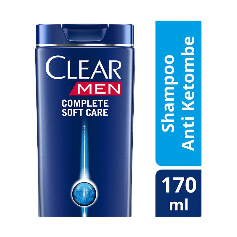 Clear Men Shampoo Anti Ketombe Complete Soft Care 170ml