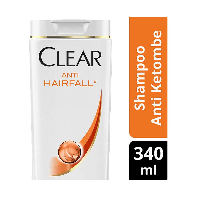 Clear Shampoo Anti Ketombe Anti Hair Fall 340ml