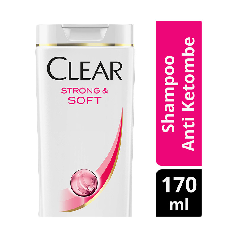 Clear Shampoo Anti Ketombe Strong & Soft 170ml