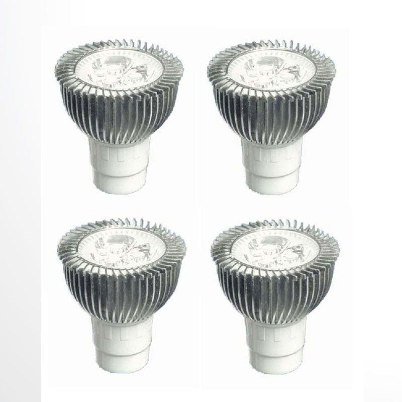 ACR MR16 Putih Lampu LED [3 Watt/3000 K/4 Pcs]