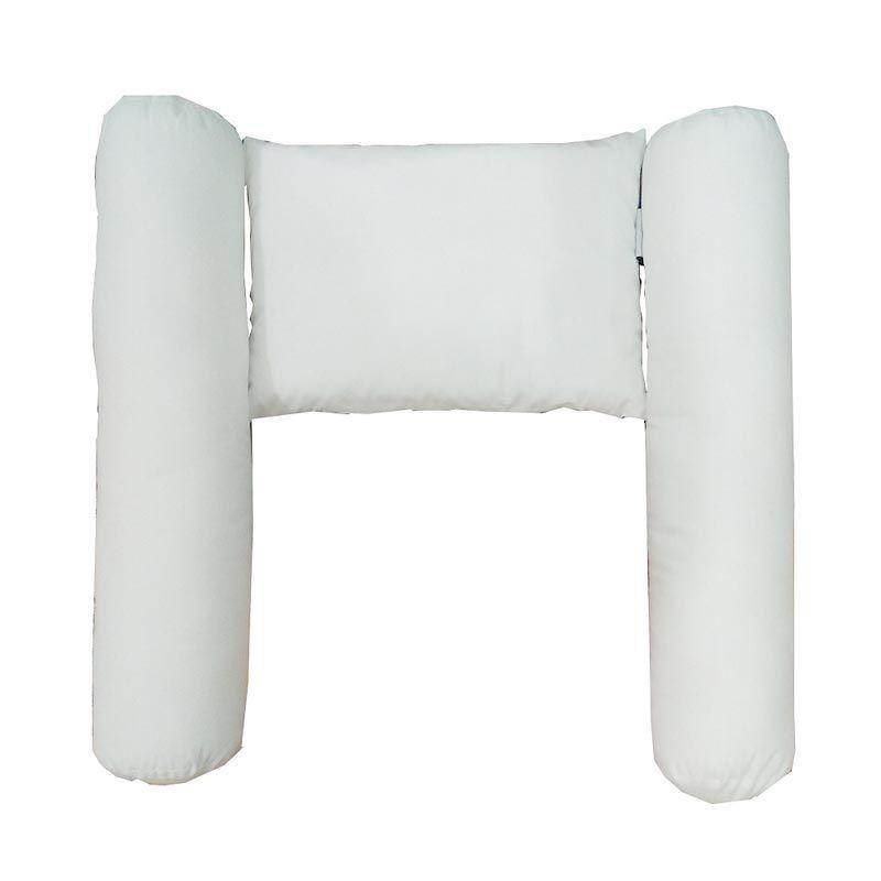 EXCELLO Balita Putih Bantal dan Guling [1 Bantal/2 Guling]