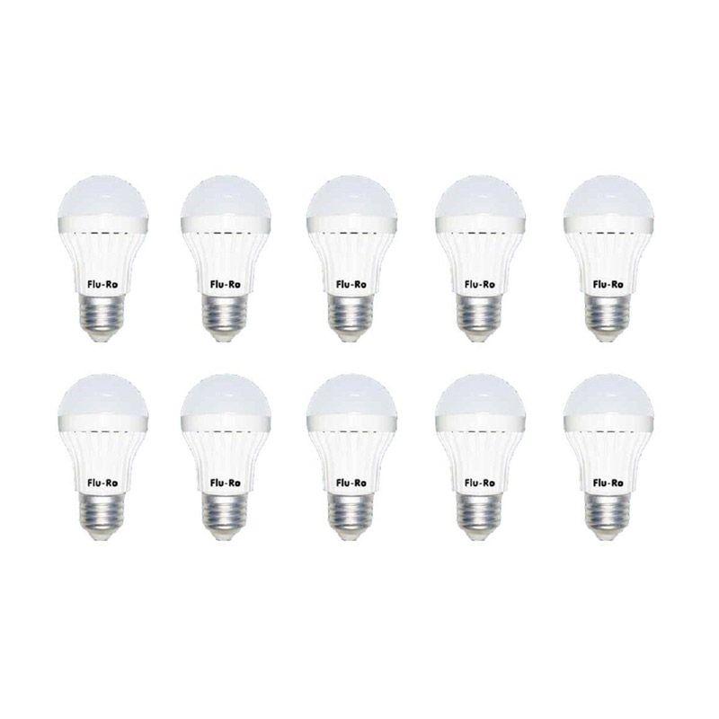 Fluro Ekonomis LED TIPE 3 Putih Lampu LED [10 Pcs]