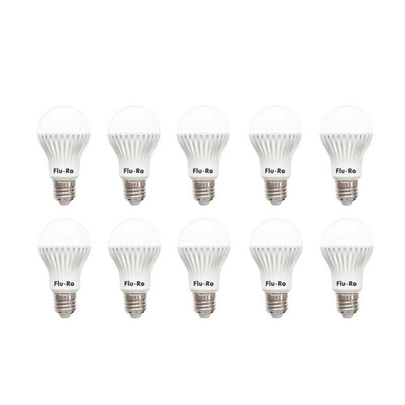 Fluro LED 4W Putih Lampu LED [10 Pcs]